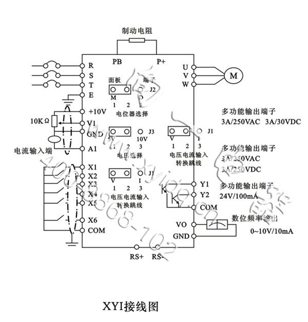 厂价直销两相220v输入通用型变频器的作用