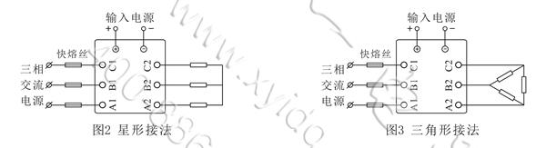 整流电路的交流感性负载则宜选用随机型固态继电器