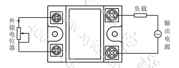 xy50tsr-40f单相交流固态调压器额定40a电流单相调功